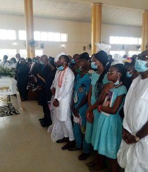 Burial of late Amaka Lauretta Ndoma-Egba