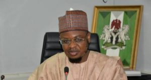 Dr Isa Ibrahim Pantami, Minister of Communications and Digital Economy,