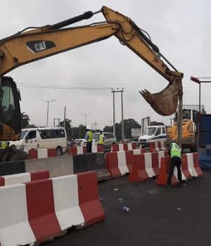 Lagos-Ibadan Expressway construction