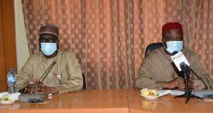 NNPC GMD Mele Kyari and RMAFC boss Engr. Elias Mbam
