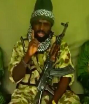 Abubakar Shekau, leader of the Book Haram sect