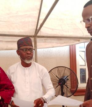 Kunle Adesina, new chairman, Abiola Azeez