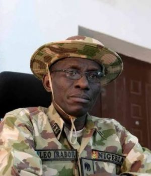 Major-General Leo Irabor, Chief of Defence Staff
