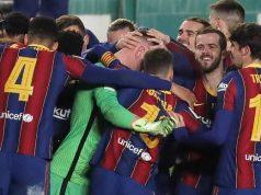 Barcelonam mates jubilate