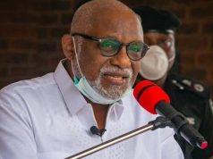 Ondo State Governor Oluwarotimi Akeredolu
