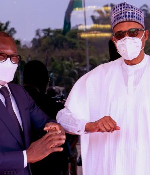 President Patrice Talon of Republic of Benin and President Buhari