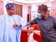 President Buhari and Gov. Makinde