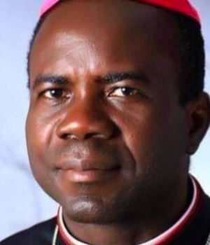 Moses Chikwe, the auxiliary bishop of Owerri Catholic archdiocese in Imo state