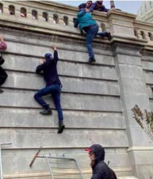 Republican protesters at Capitol Hill