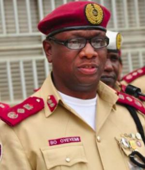 Dr Boboye Oyeyemi, FRSC Corps Marshal,