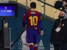 Messi out