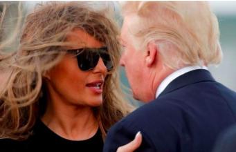 Melania and Trump, Tiffany parents