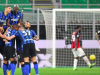 This Milan derby was the 25th meeting between the two sides in the Coppa Italia