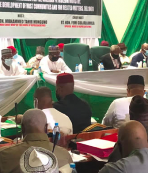 House of Reps public hearing on PIB