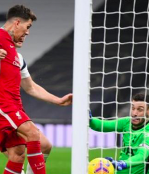 Roberto Firmino tapped Liverpool ahead with his fifth goal in his last six Premier League matches against Spurs