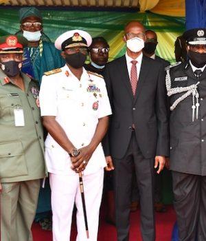 Tayo Ayinde, Lagos Head of Service represents Gov. Sanwo-Olu