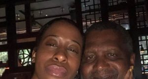 Bea Lewis and Alijo Dangote