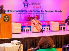 Gov. Sanwo-Olu addresses guests