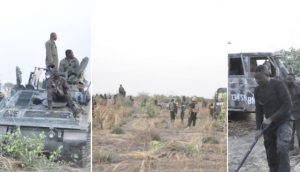 Nigerian troops clear Marte axis of Boko Haram ISWAP Terrorists