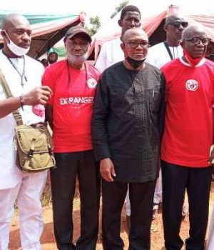 Peter Obi and Rangers Ex-players