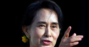 Aung San Suu Kyi, ousted Myanmar leader