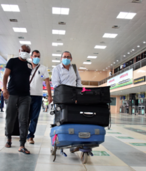 International travellers