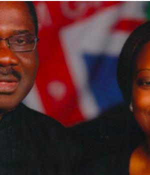 Reuben Olu Obaro, a UK-based medical doctor, and his wife Ayodele Obaro,