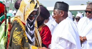 Sanusi Lamido and Gov. Ganduje