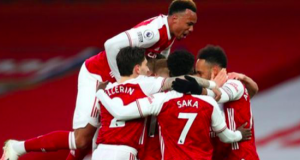 Arsenal jump up to 10th in the Premier League table, leapfrogging Leeds