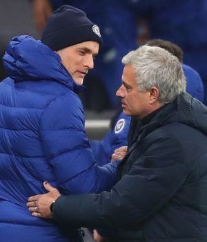 Thomas Tuchel and Jose Mourinho