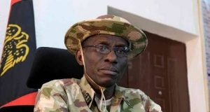 Chief of Defence Staff, General Lucky Irabor,