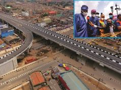Commissioning of Agege Pen Cinema flyover bridge