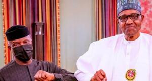Prof. Yemi Osinbajo and President Buhari