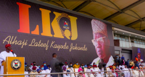 Late Lateef Jakande's post burial function