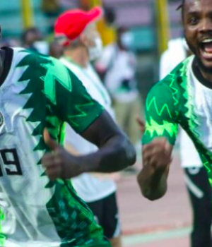 Some Super Eagles' supporters
