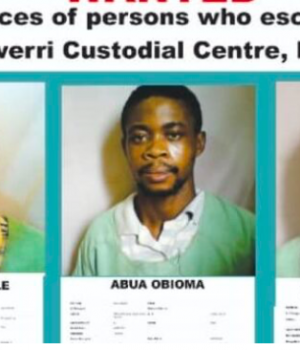 Faces of those who escaped from Imo Correctional Service