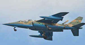 Nigeria Air Force plane