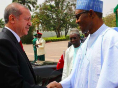 Presidents Erdogan and Buhari