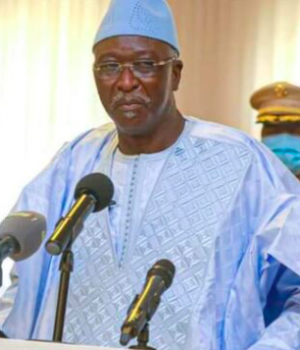Mali's interim President Bah N'Daw