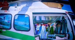 Buhari commissions rail tracks in Lagos