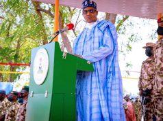 President Buhari in Borno