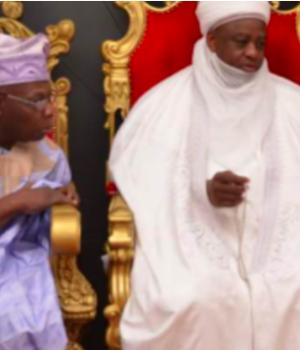 Olusegun Obasanjo and Sa'ad Abubakar, Sultan of Sokoto