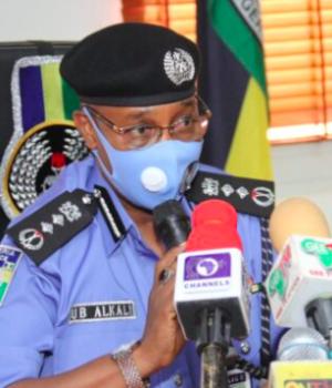Usman Baba, inspector-general of police