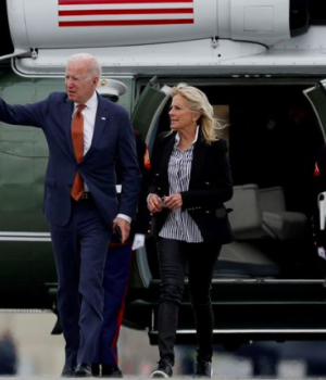 U.S. President Joe Biden and wife, Jill