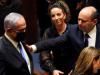 Head of Oposition Benjamin Netanyahu and Israel Prime Minister Naftali Bennett