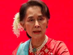 Ousted Myanmar leader Aung San Suu Kyi