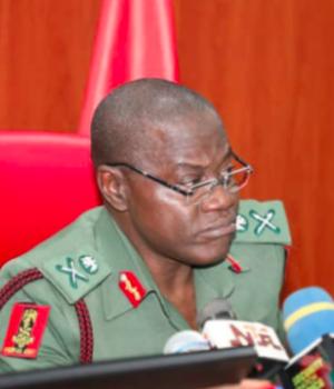 Faruk Yahaya, chief of army staff