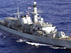 British Royal Navy warship