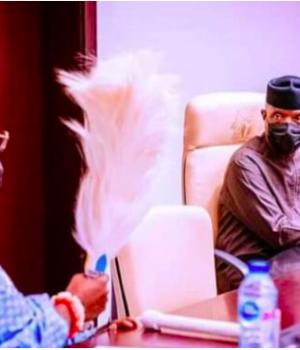 Oluyi of Iyin and VP Osinbajo
