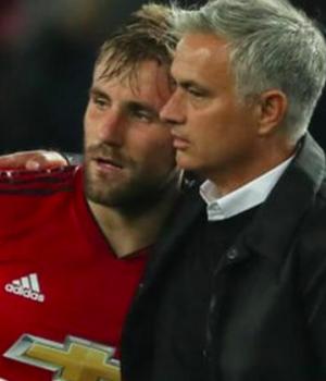 Shaw and Mourinho